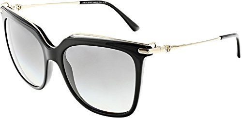 Giorgio Armani Women's 0AR8091 Black/Grey Gradient Sunglasses (Armani Sunglasses Giorgio)