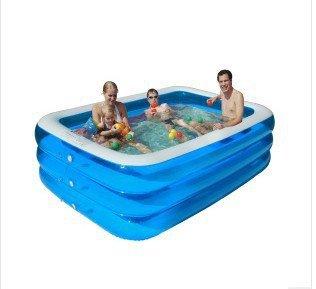 Swimmingpool aufblasbar rechteckig for Swimming pool stahlwand rechteckig