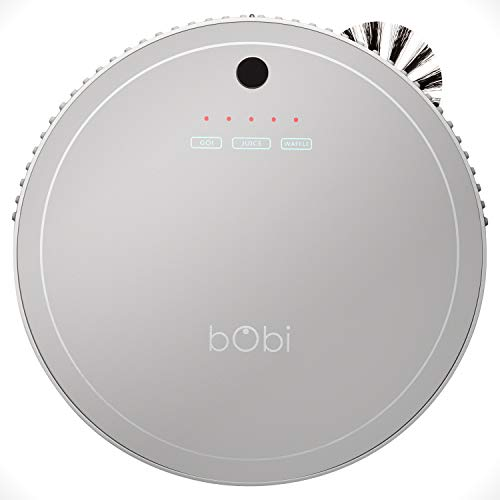 bObsweep bObi Pet Robotic Vacuum Cleaner, Silver