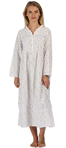 - The 1 for U 100% Cotton Nightgown Vintage Design - Annabelle (Large, Lilac)