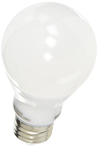 Philips 455840 60W Equivalent 2200K-2700K A19 Dimmable LED Warm Glow Light Effect Light Bulb, Soft White (Dimmable Cfl Philips)