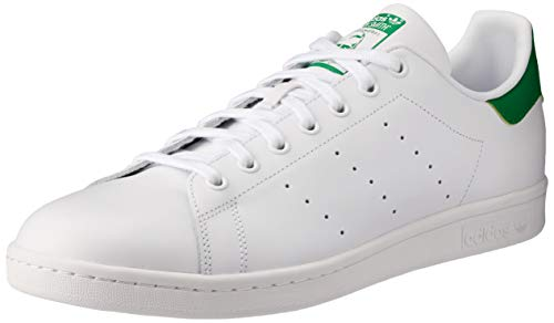adidas Originals Men's Stan Smith Running Shoe, White/Green, ((10.5 M US)