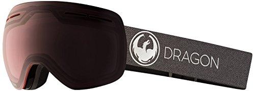 Dragon Alliance X1s Ski Goggles, Black, Medium, Echo/Transitions Light Rose Lens