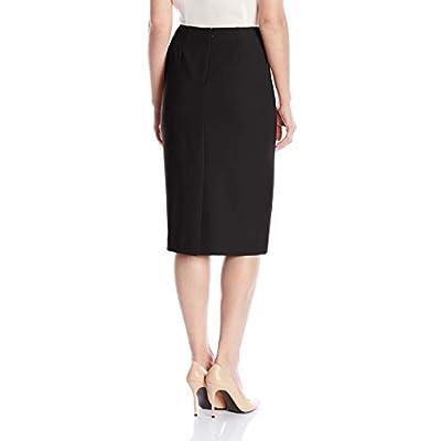 Kasper Women's Stretch Crepe Skimmer Skirt at Women's Clothing store