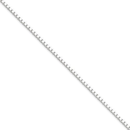 Silver Jewelry 18' Box (Roy Rose Jewelry Sterling Silver 2mm Box Chain 18'' length)