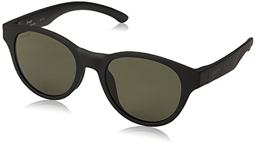 Smith The Snare Sunglasses Matte Black with ChromaPop Polarized Gray Green Lens