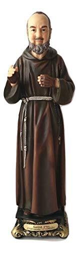 Woodington's Florentine Collection Saint Padre Pio 8 Inch Statue
