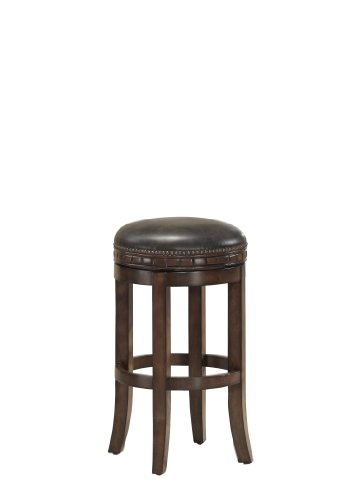 American Heritage Billiards Sonoma Bar Height Stool, Suede (Sonoma Leather Furniture)
