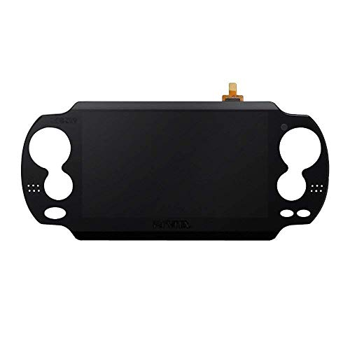 Original Black LCD Display Panel Screen Complete Assembly for Playstation PS Vita PSV PCH-1001 PCH-1101 Game Device (Pch 1101)