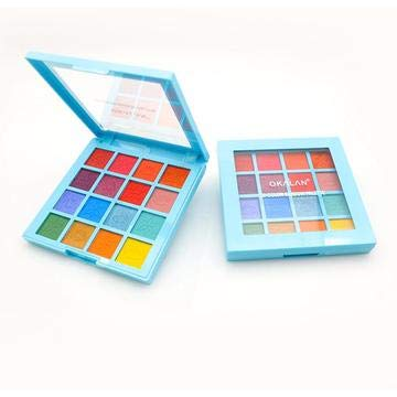 Bold 16 Color Eye Shadow Palette