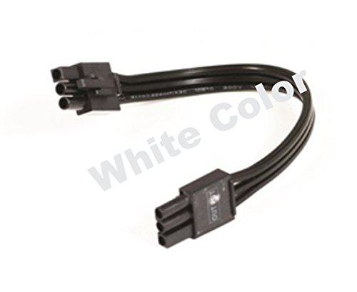 Nora Lighting NUA-806W LEDUR 6' Jumper Cable, White