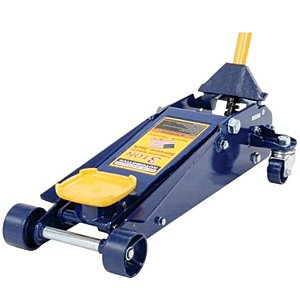 Hein-Werner HW93652 Blue Heavy Duty Service Jack - 3 Ton Capacity (Floor Jacks Made In Usa)