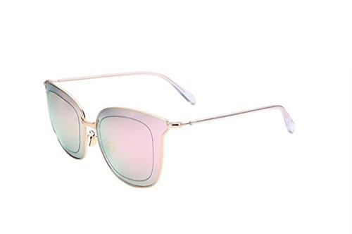 de Gafas D de protecciónn color amp; X226 cine reflectante Gafas personalizadas sol C de marco amp;Gafas Lente Color de sol de grande 61wtt5xYq