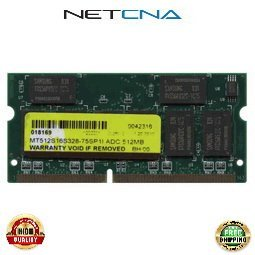 Pc133 Sodimm Compaq Notebook Ram (251653-B21 512MB Compaq Presario Notebook PC133 SODIMM 100% Compatible memory by NETCNA USA)