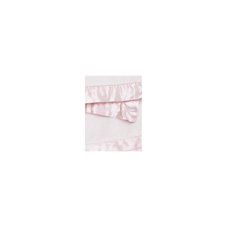 Little Giraffe Luxe Stroller Baby Blanket, Pink, 29″ x 35″