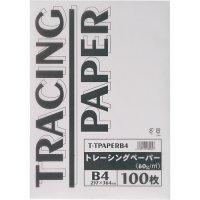 [해외]트레이싱 용지 60g B4 1 팩 (100 매) / Tracing Paper 60g B4 1 Pack (100 sheets)