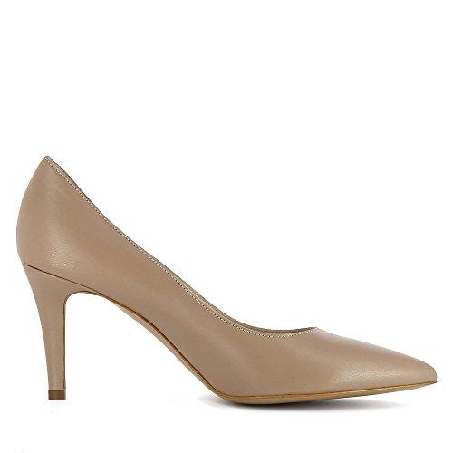 Evita Shoes Aria - Zapatos de vestir de Piel para mujer Beige