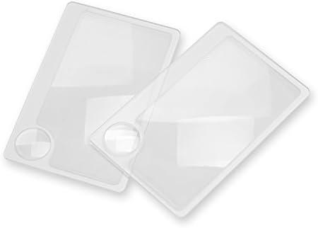 Amazon.com: Carson individual Pack 2.5 x potencia tarjeta de ...