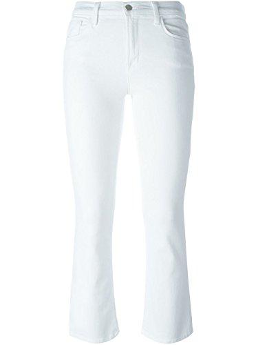 JBrand Femme 8314C028BLANC Blanc Coton Jeans
