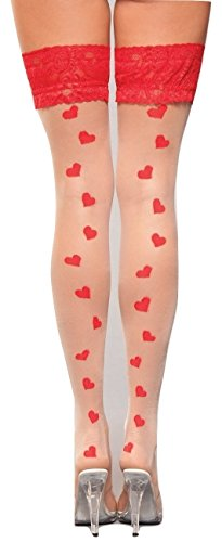 (Sweetheart Thigh Highs)