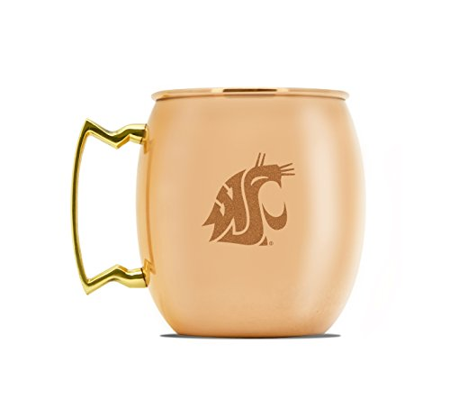 (NCAA Washington State Cougars 16oz Copper Moscow Mule Mug)