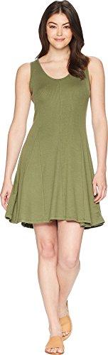 Toad&Co Women's Daisy Rib Sleeveless Dress Thyme Medium