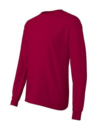 Hanes TAGLESS 6.1 Long Sleeve T-Shirt