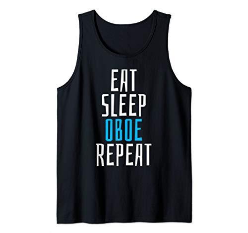 Eat Sleep Oboe Instrument Student Teacher School Music Gift Tank -