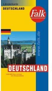 falk landkarte deutschland Falk Landkarte Deutschland 3130270003: Amazon.de: Elektronik