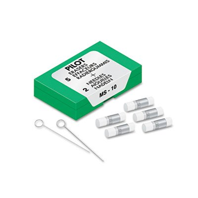Eraser Refills, 70001, 5/Pack (25 Pack) by PILOTCORP (Image #1)