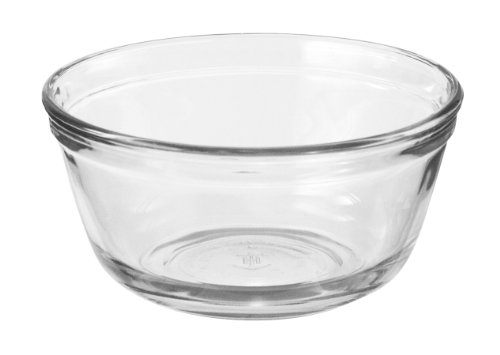 Anchor Hocking Glass Food Prep and Mixing Bowls, 2.5 Quart (Set of 6)