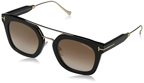 Sunglasses Tom Ford FT 0541 Alex- 02 01F shiny black / gradient brown