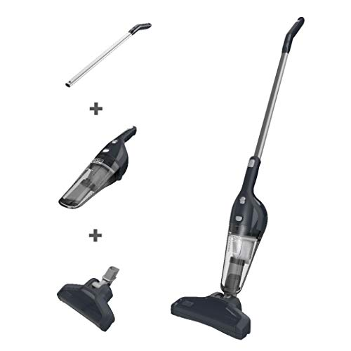 BLACK+DECKER HHS315J01 Cordless 4-in-1 Stick Vacuum, Dark Tech Gray