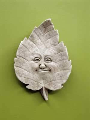 (Linden B. Leaf Wall Plaque)