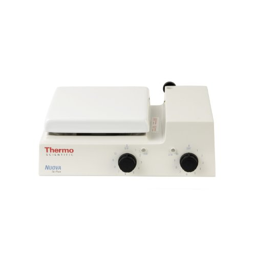 - Thermo Scientific SP18420Q Nuova Analog Low-Profile Stirring Hot Plate with Integral Ring Stand Holder and 7