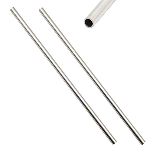 CCTVMTST 2 Pcs Stainless Steel 304 Capillary Tube Tubing OD 8mm ID 6mm Length - 1 8 Stainless Steel Tube