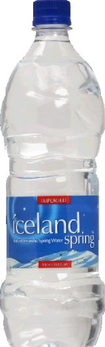 Iceland Spring Water, 33.8100-ounces (Pack of12) by Iceland