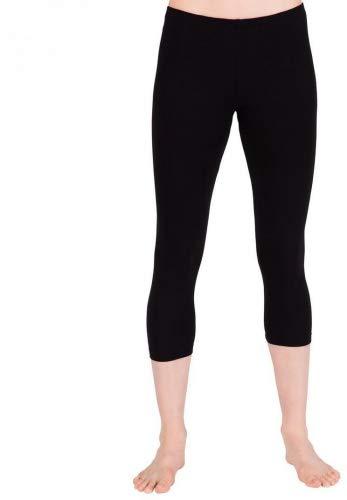 7522604d0e750 Amazon.com: Child Capri Leggings,TH5521CBLKL,Black,Large: Clothing