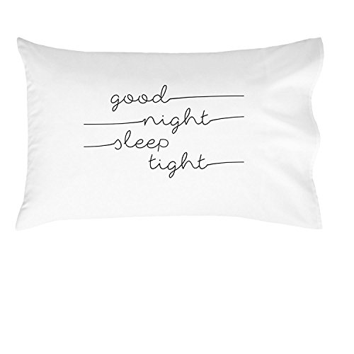 [Oh, Susannah Good Night Sleep Tight Kids Pillowcase - 14x20.5 Inch Pillowcase Fits Toddler and Travel Size Pillow] (Animals That Starts With Letter E)