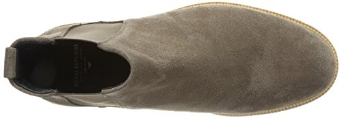 Royal RepubliQ Herren Cast Crepe Chelsea Suede-Taupe Boots Braun (Taupe)