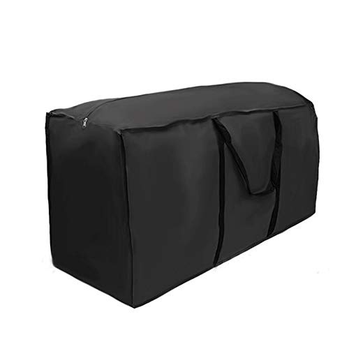 DIYARTS 210D Oxford Cloth Large Garden Storage Bag Waterproof Patio Furniture Cushion Storage Bag Lightweight Zipped Carry Case (1164751cm) (Garden Oxford Cushions)