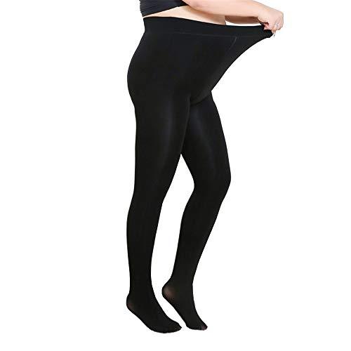 Moca NEW Upgraded Super Elastic Magical Tight Silk Stocking Skinny Leg Sexy Pantyhose (Black) (A Pair Of Silk Stockings Full Text)