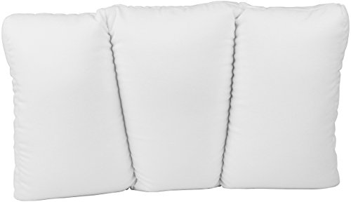 (Deluxe Comfort MicroBead Cloud Pillow - Feels Like Sleeping on a Cloud - Contour Cloud Pillow with Microbeads - Hypoallergenic - Used for Aches and Pains - Removable Zipper Cover - Bed Pillow, Small)