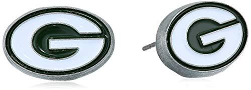 NFL Green Bay Packers Stud Earrings (Womens Packer Ring)