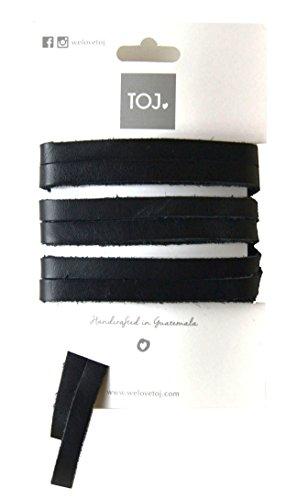 We Love TOJ TOJ Laces (Black Leather)