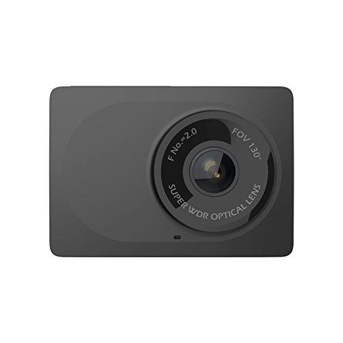 "YI Compact Dash Cam, 1080p Full HD Car Dashboard Camera with 2.7"" LCD Screen, 130° WDR Lens, G-Sensor, Night Vision, Loop Recording"