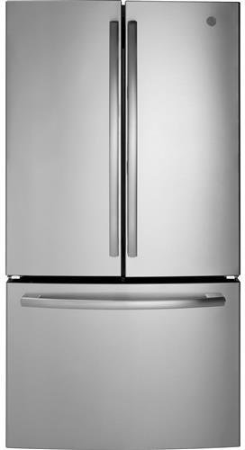 GE GNE27ESMSS 36 Inch Smart French Door Refrigerator with 27 cu. ft. Total Capacity, in Stainless Steel