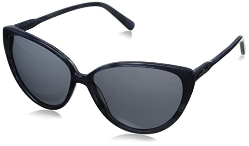 7 For All Mankind Women's 7902 Cateye Sunglasses, Blue Stripes, 55 - All Glasses For Mankind Seven