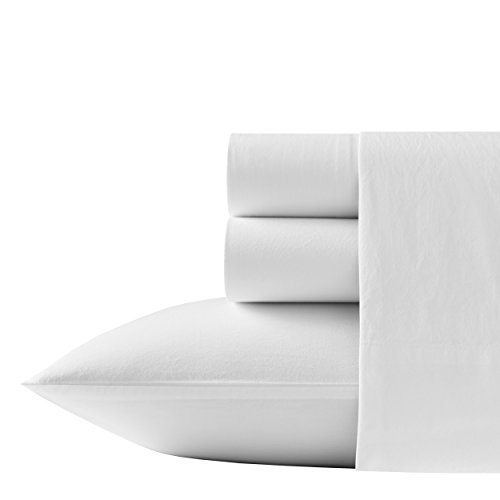 Tommy Bahama Relaxed State Cotton Sheet Sets, Queen, White