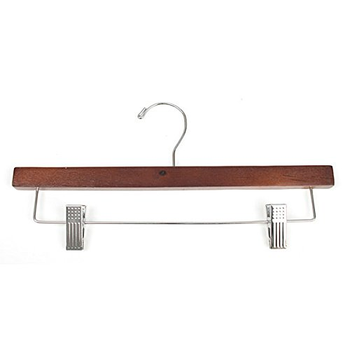 Wood Pant Hanger Fashion Clothes Display Store Fixture 14'' Cherry Lot of 100 NEW by Unknown